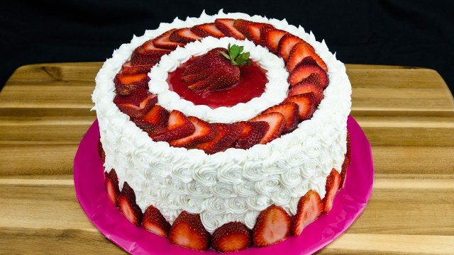 Strawberry Birthday Cakes Strawberry Cake Recipe How To Make Strawberry Cake Cookies