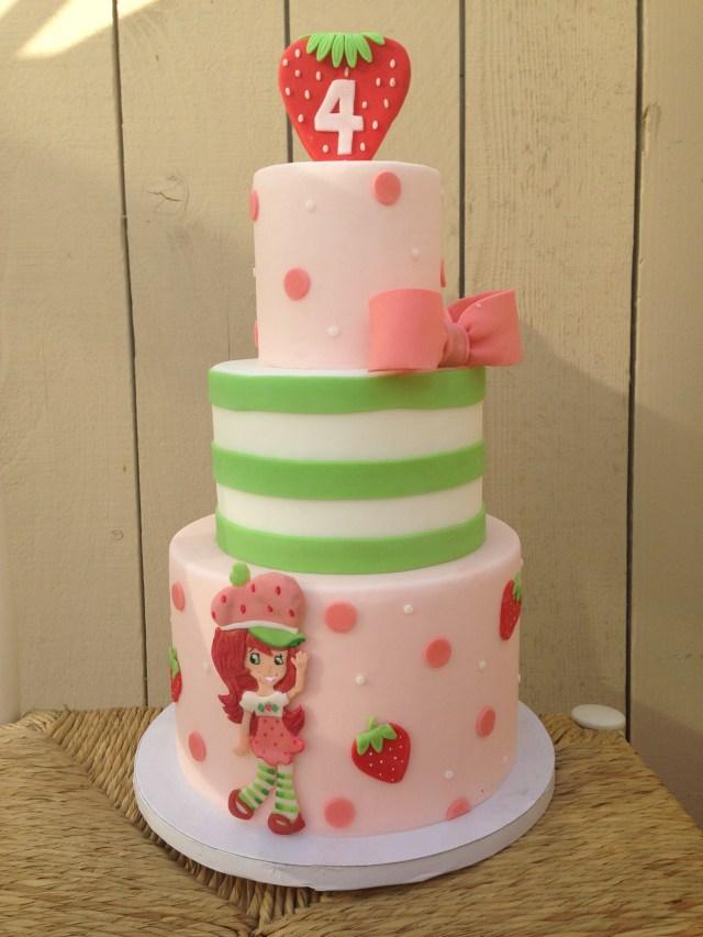Strawberry Shortcake Birthday Cake Strawberry Shortcake Birthday Simply Irresistible