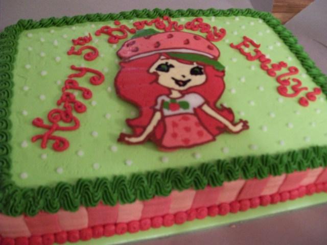 Strawberry Shortcake Birthday Cake The Cake Box Girls Strawberry Shortcake Birthday Cake Cupcakes