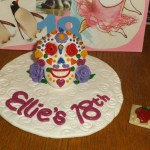 Sugar Skull Birthday Cake Fimo Sugar Skull Birthday Cake Topper Craftymummy On Deviantart