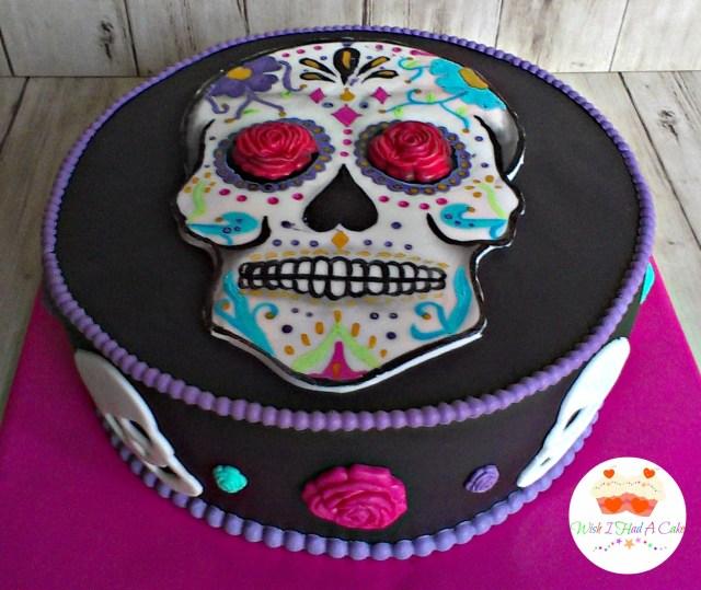 Sugar Skull Birthday Cake Sugar Skull Birthday Cake Happy Birthday World