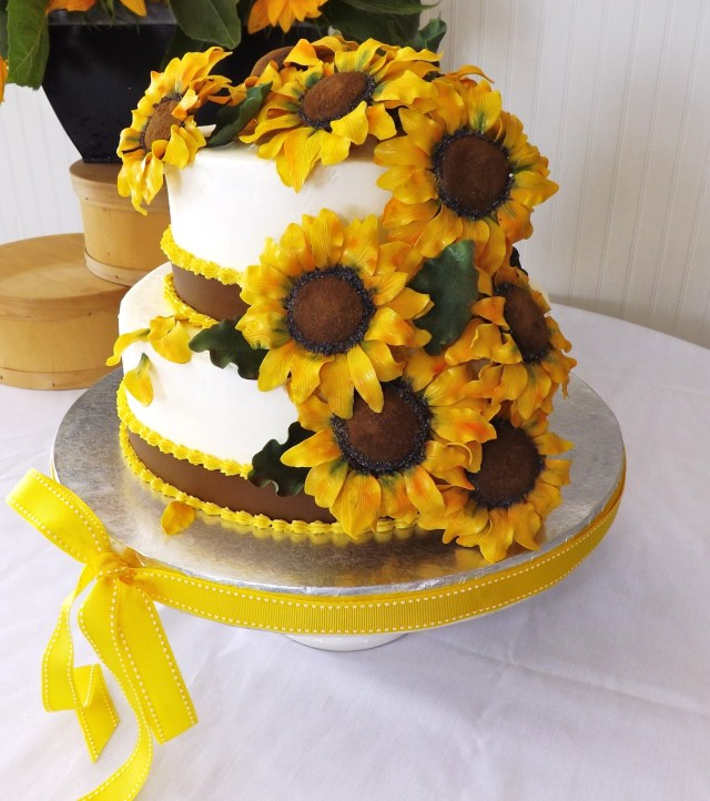 Sunflower Birthday Cake 10 Sunflowers Flowers Birthday Cakes Photo Sunflower Birthday Cake