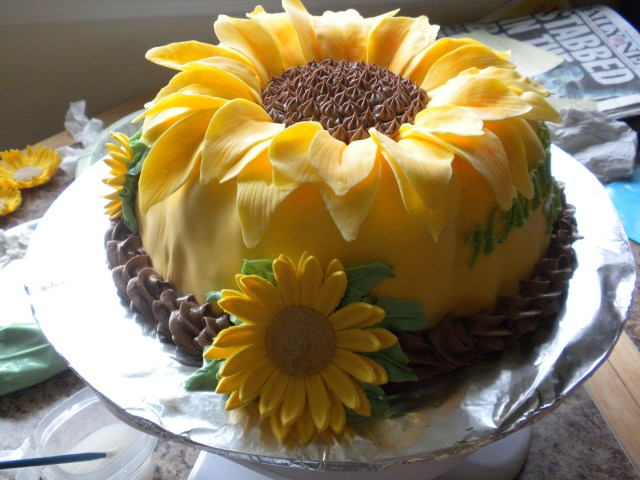 Sunflower Birthday Cake Sunflower Sunflower Birthday Cake I Need This For My Next Birthday
