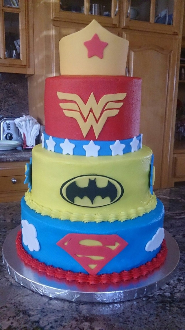 Superhero Birthday Cake Dc Superhero Girls Cake Dc Superhero Girls Pinterest Girl