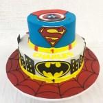 Superhero Birthday Cake Superhero Birthday Cake Palermos Custom Cakes Bakery