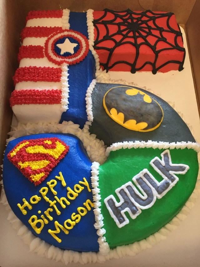 Superhero Birthday Cake Sweet Arts Bakery Super Hero Cake Yummy Pinterest Superhero