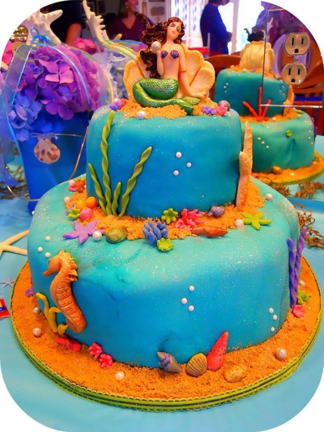 Sweet 16 Birthday Cakes Mermaid Under The Sea Sweet 16 Birthday Cake Cakecentral