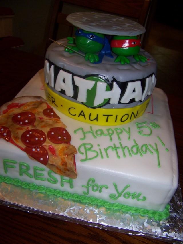 Teenage Mutant Ninja Turtles Birthday Cake Plumeria Cake Studio Teenage Mutant Ninja Turtles Birthday Cake