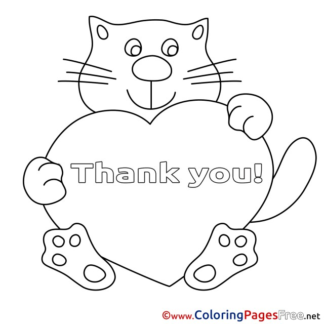 Thank You Coloring Pages Easy Printables Thank You Card Coloring Pages 21542 Card Thank You