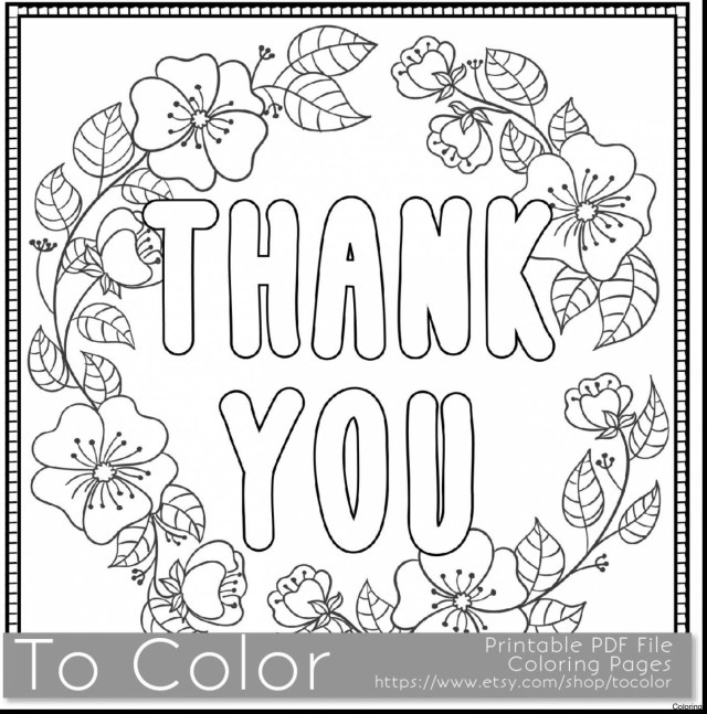 Thank You Coloring Pages Thank You Coloring Pages Of 8 10 Betweenpietyanddesire
