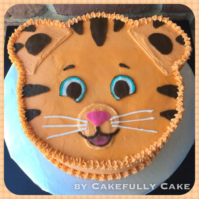 Tiger Birthday Cake Daniel Tiger Cake Cakefully Cake Cakefully Cake Pinterest