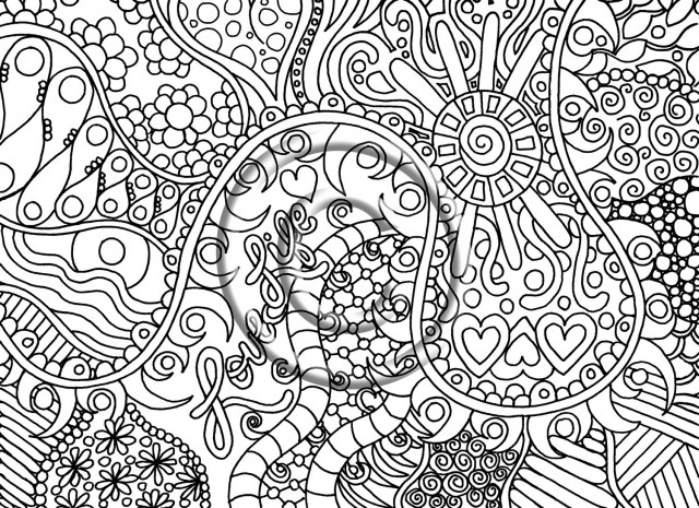 Trippy Coloring Pages Trippy Coloring Pages Vietti