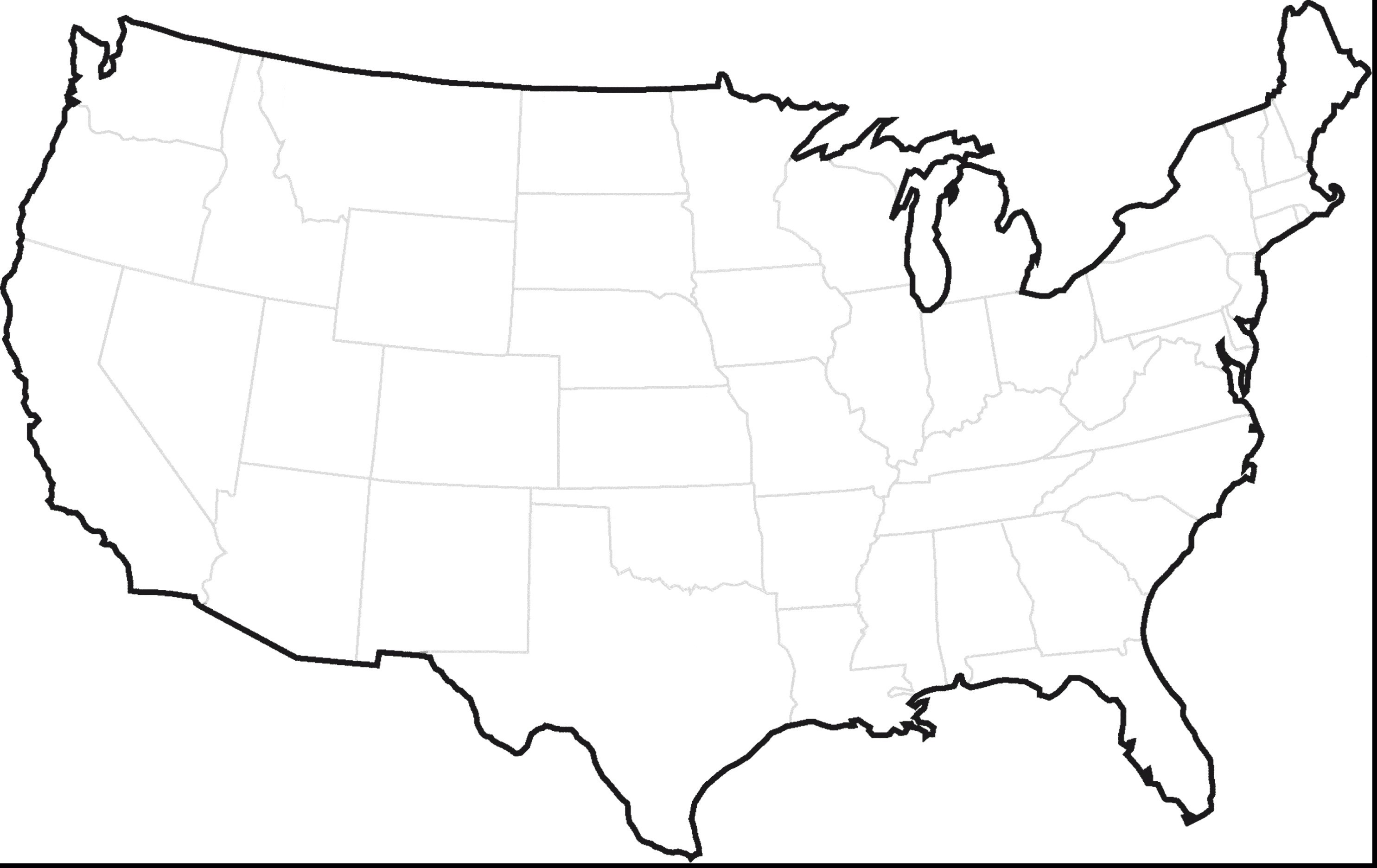 United States Map Coloring Page United States Map Coloring Page ...
