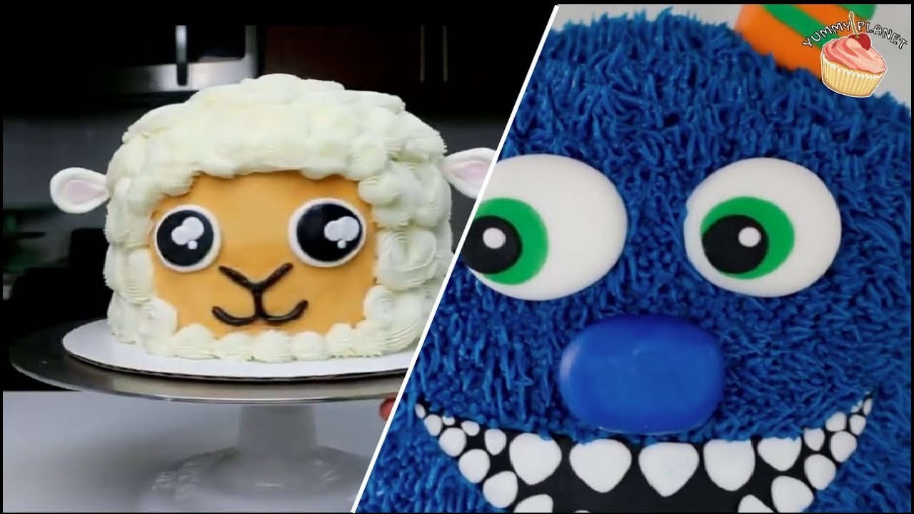 Unusual Birthday Cakes 10 Cool Cake Ideas For Kids Youtube
