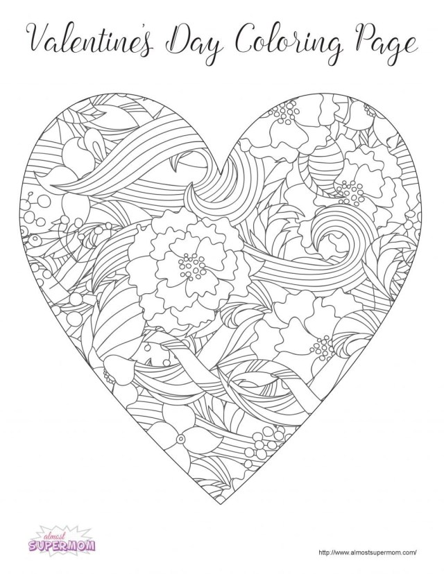 Valentine Coloring Pages To Print Coloring Page Valentines Coloring Pages Happiness Is Homemade