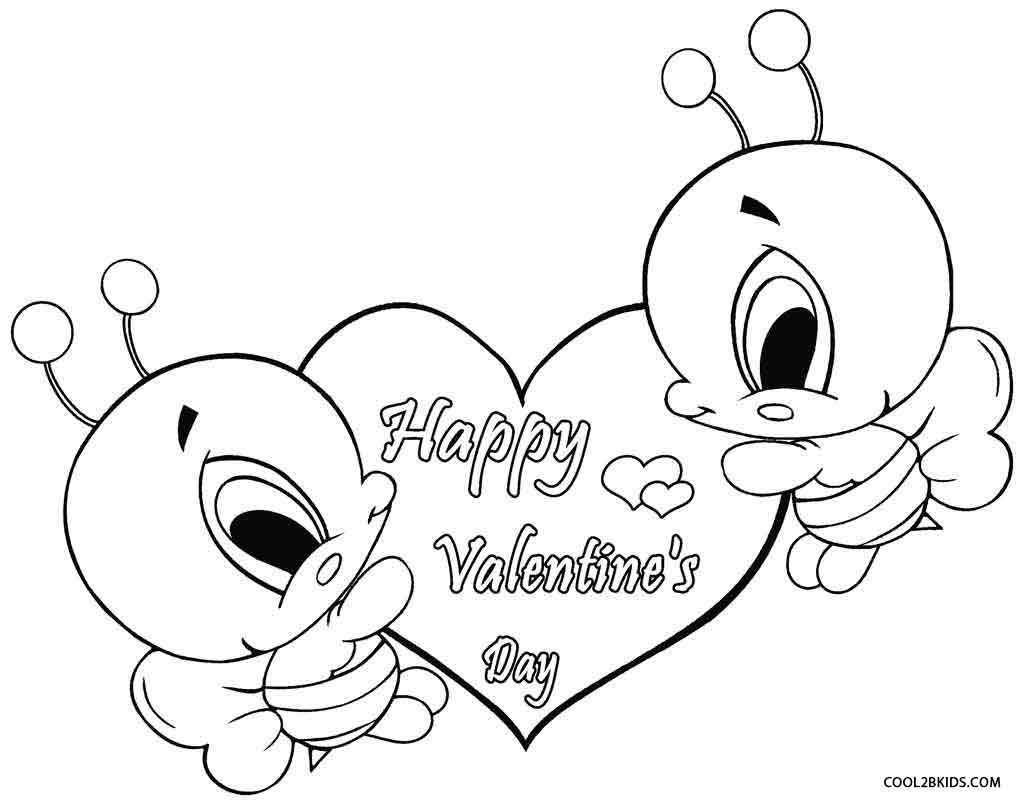 Valentine Coloring Pages To Print Valentine Coloring Pages Brown ...