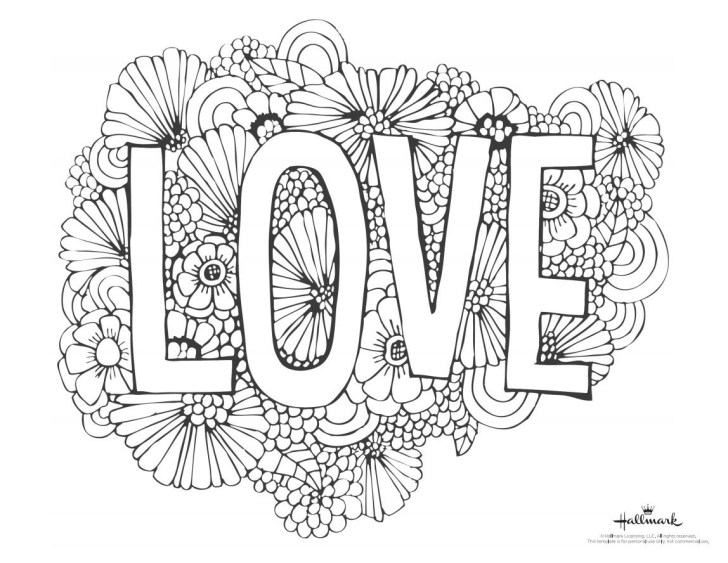 27+ Amazing Photo of Valentines Day Coloring Pages For Adults