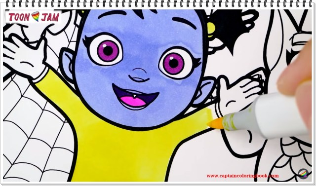 Vampirina Coloring Pages Vampirina Coloring Pages Coloring Page