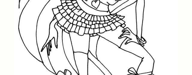 Winx Coloring Pages Winx Club Bloom Coloring Page Free Printable Coloring Pages