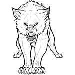 Wolf Coloring Pages For Adults Wolf Coloring Pages Alert Famous Printable Get This For Adults Free