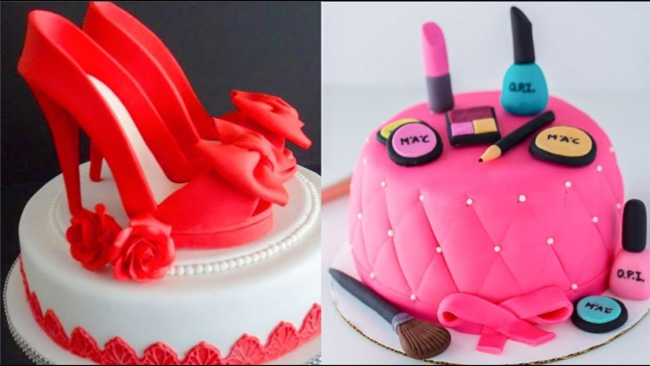 25+ Pretty Photo of Women's Birthday Cake Ideas