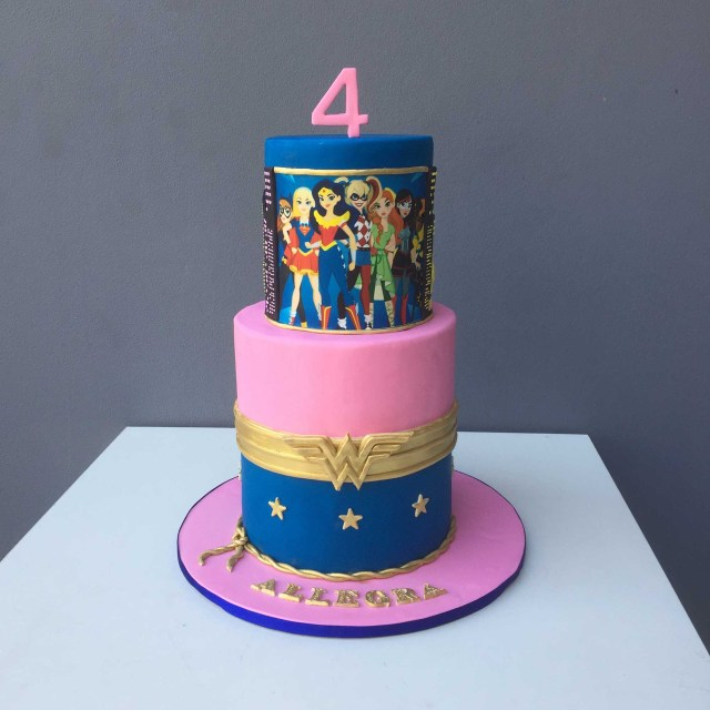 Wonder Woman Birthday Cake Wonder Woman Birthday Cake Kustomize Cakes