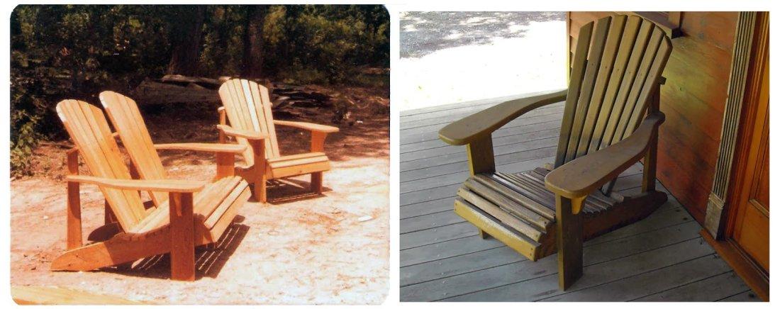 Cypress Adirondack Chairs
