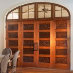 antique cypress door