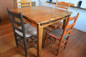 Tennessee Cabin Reclaimed Wood table