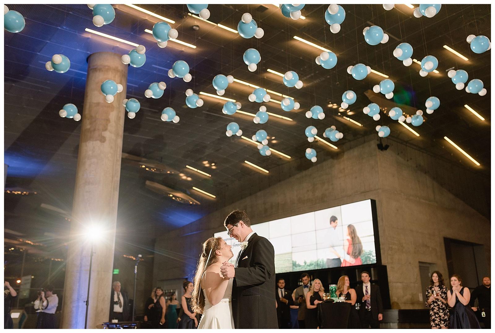 Perot Museum Dallas Wedding  Alba Rose Photography