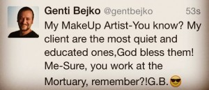 MAKE UP JOKE by Genti BEJKO