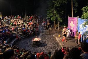 International Camp Fire (credit: Caro Kaunisaho)