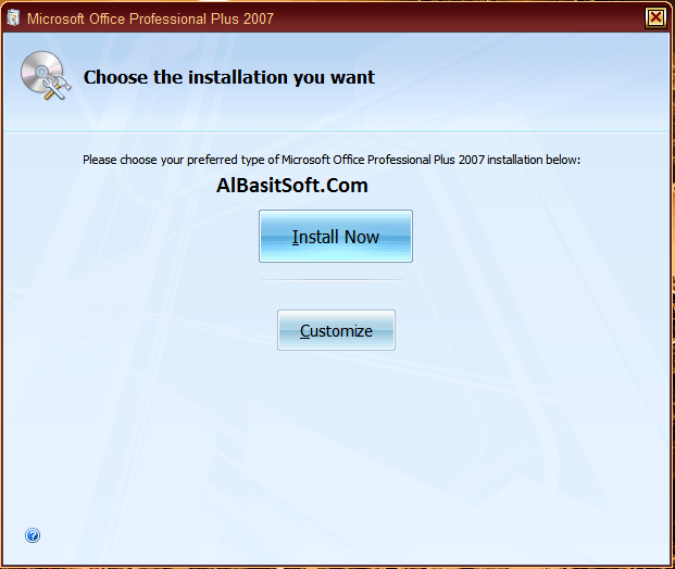 Microsoft Office Professional Plus 2007 With Product Key Free Download(AlBasitSoft.Com)