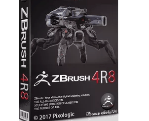 Pixologic ZBrush 2018.1 Full Free Download(Albasitsoft.com)