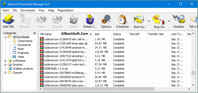 Internet Download Manager 6.33 Build 1 With Crack(AlBasitSoft.Com)