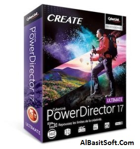 CyberLink PowerDirector Ultimate 17.0.3005.0 With Crack Free Download(AlBasitSoft.Com)