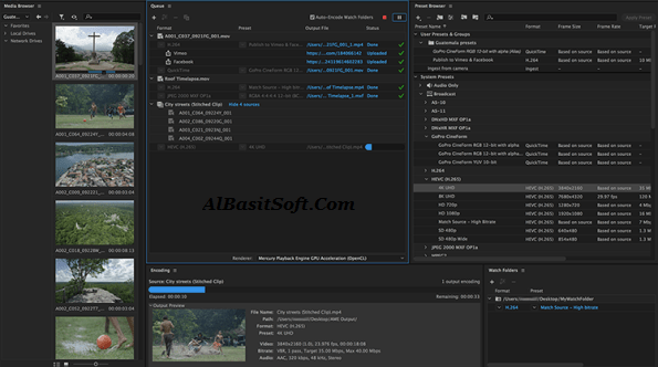Adobe Media Encoder CC 2019 v13.0 With Crack Pre-Activated Free Download(AlBasitSoft.Com)