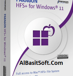 Paragon HFS+ for Windows 11.4.273 With Crack