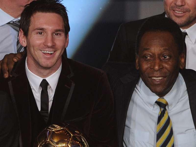 Trajneri i Brazilit  Messi nuk mund të krahasohet me Pelen