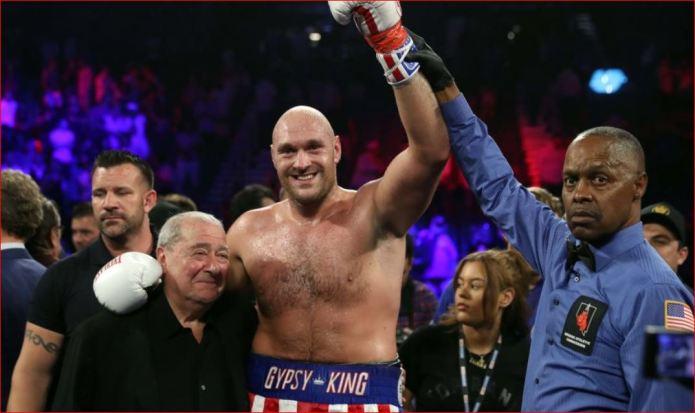 Tyson Fury triumfon me lehtësi ndaj Schwarz, mjaftojnë dy raunde