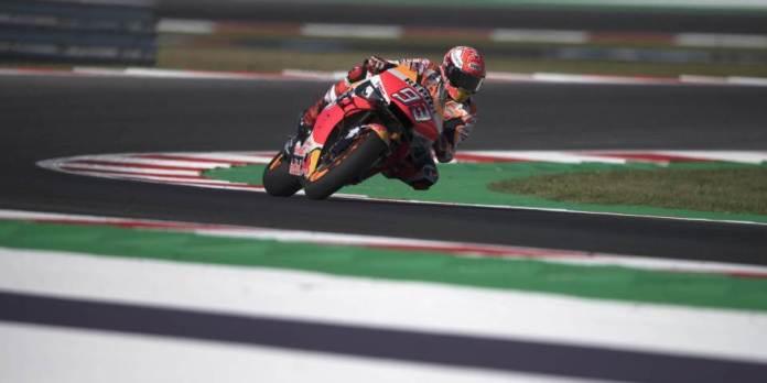 Marquez dominon pistën e Aragonit, Dovizioso i dyti