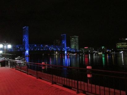 """the famous """"Blue"""" Bridge"""