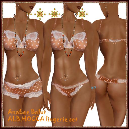 ALB MOCCA lingerie