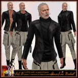 ALB CLARK outfit with jacket pants boots