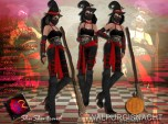 ShuShu WALPURGISNACHT outfit costume included boots skin shape hat