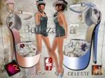 ShuShu CELESTE stiletto heels gift