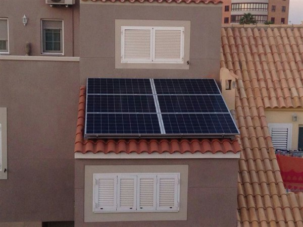 Paneles solares integrados