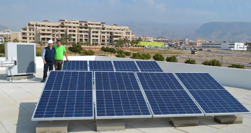 Placas solares Aguadulce