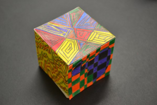 Op Art Cubes With Ms. Alberg