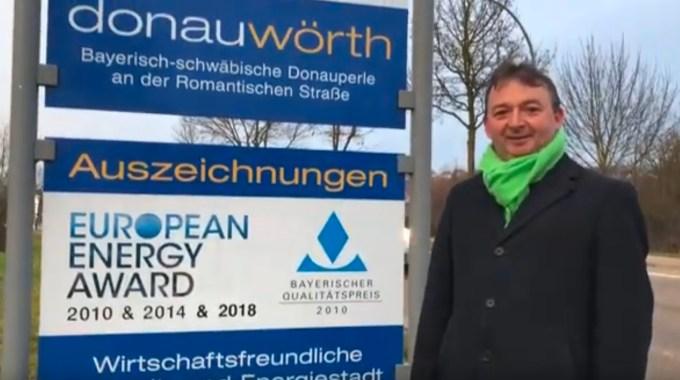 Bürgermeisterkandidat Albert Riedelsheimer Donauwoerth